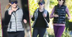 Reese Witherspoon Jogs With Pal After Falling Down