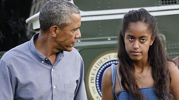 malia obama parties amsterdam club barack obama daughter video