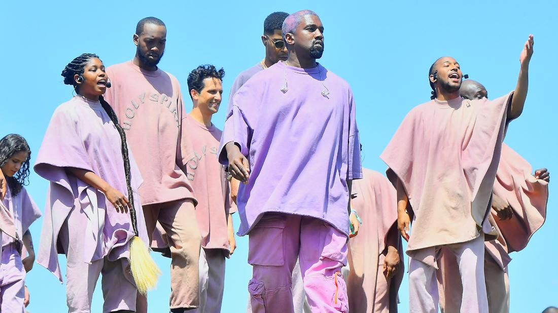 Kanye West Ordained Minister Son Baby Psalm Religious