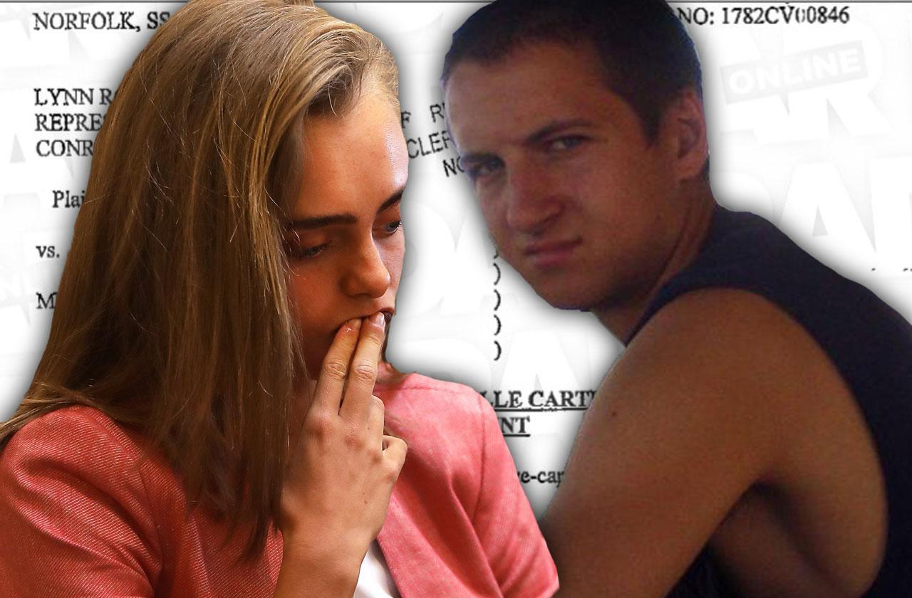 //michelle carter teen text killer lawsuit response pp