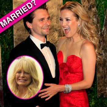 //kate hudson matt bellamy married goldie hawn