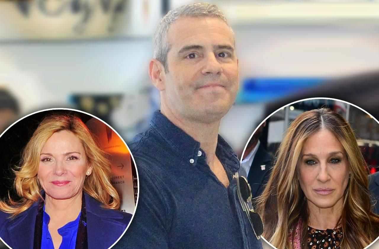 //Andy Cohen Bashes Kim Cattrall SJP Feud pp