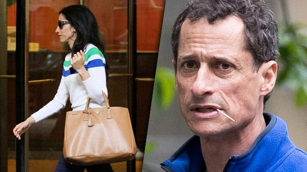 Anthony Wiener Teen Sex Scandal Huma Aberdin Steps Out New York