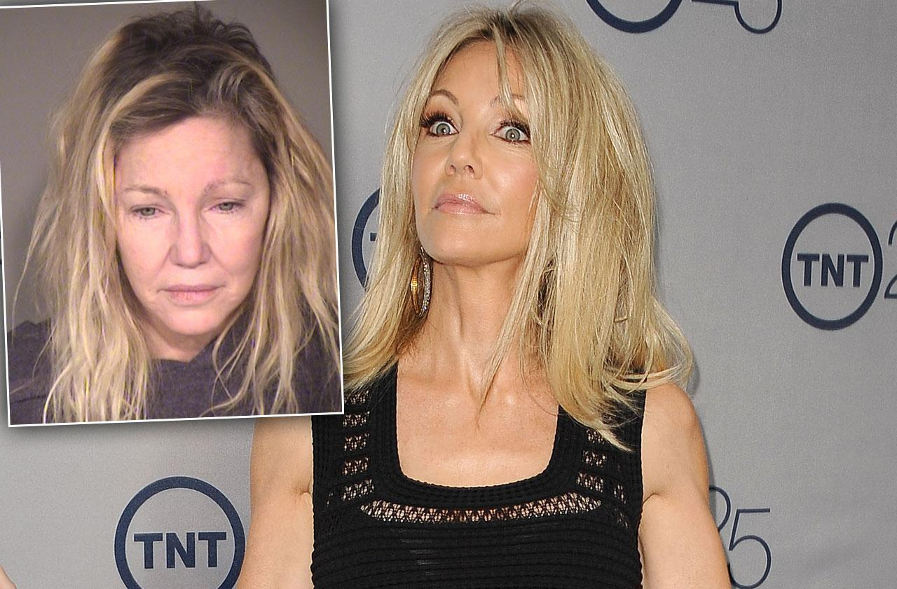 Heather Locklear Arrested Again