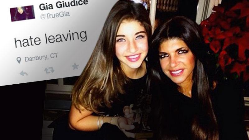 Gia Giudice Hates Leaving Teresa In Prison
