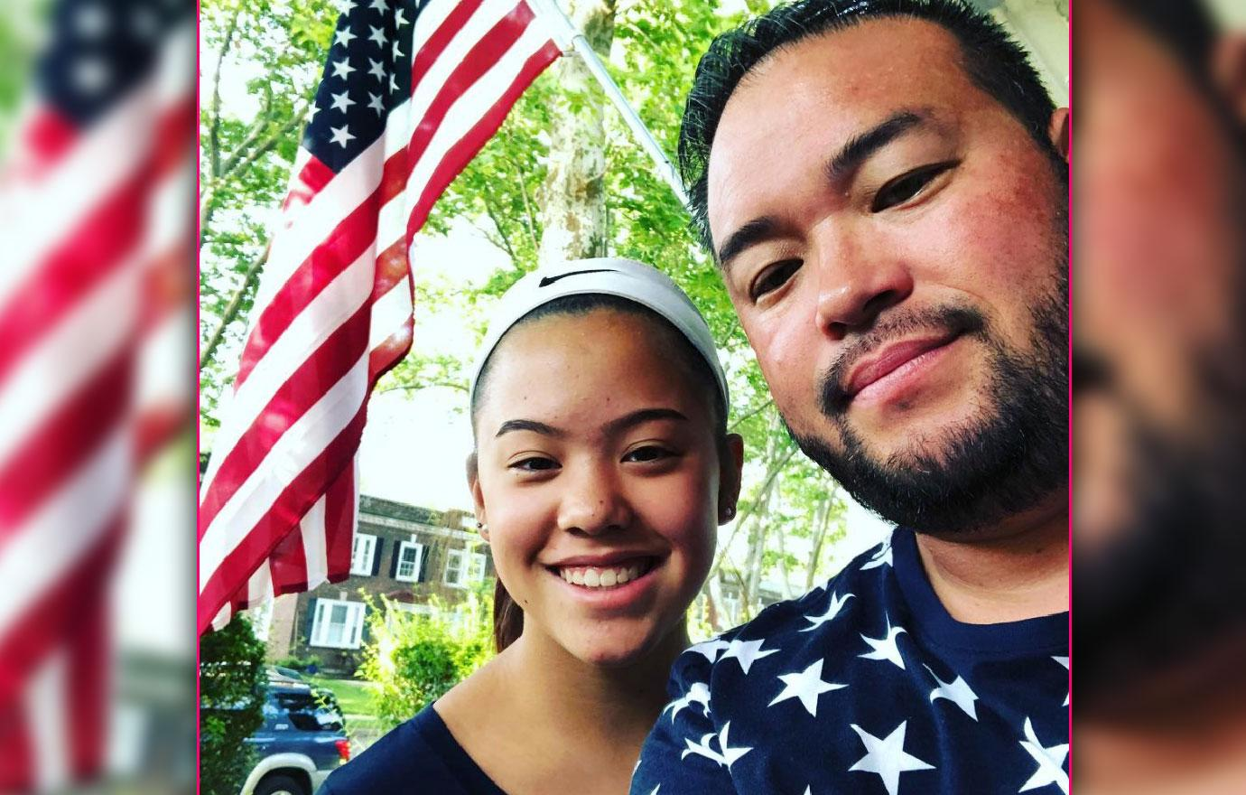 Jon Gosselin Spends 4th Of July With Daughter Hannah