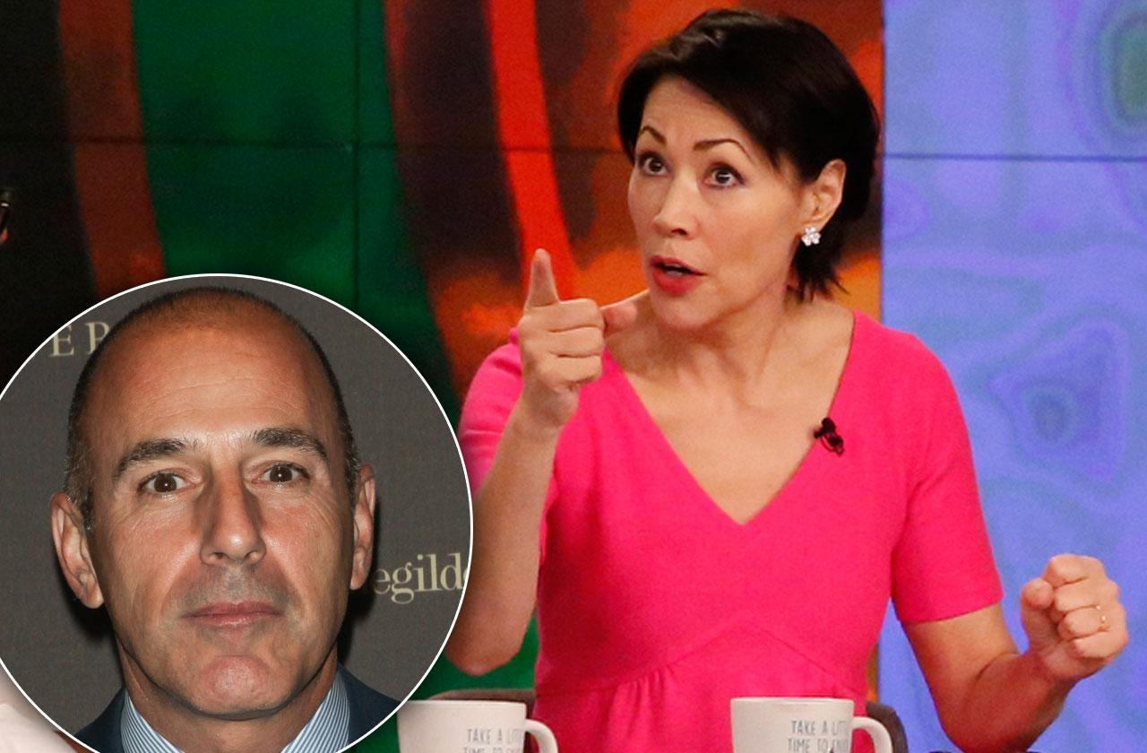 Ann Curry Warned NBC Matt Lauer