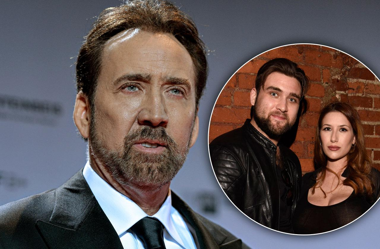 //Nicolas cage son weston restraining order divorce pp