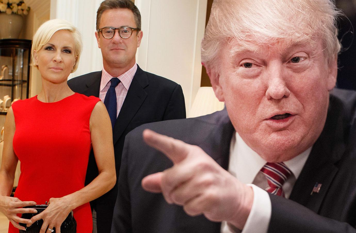 Donald Trump New Twitter Attack On Mika And Joe Dumb As Rock