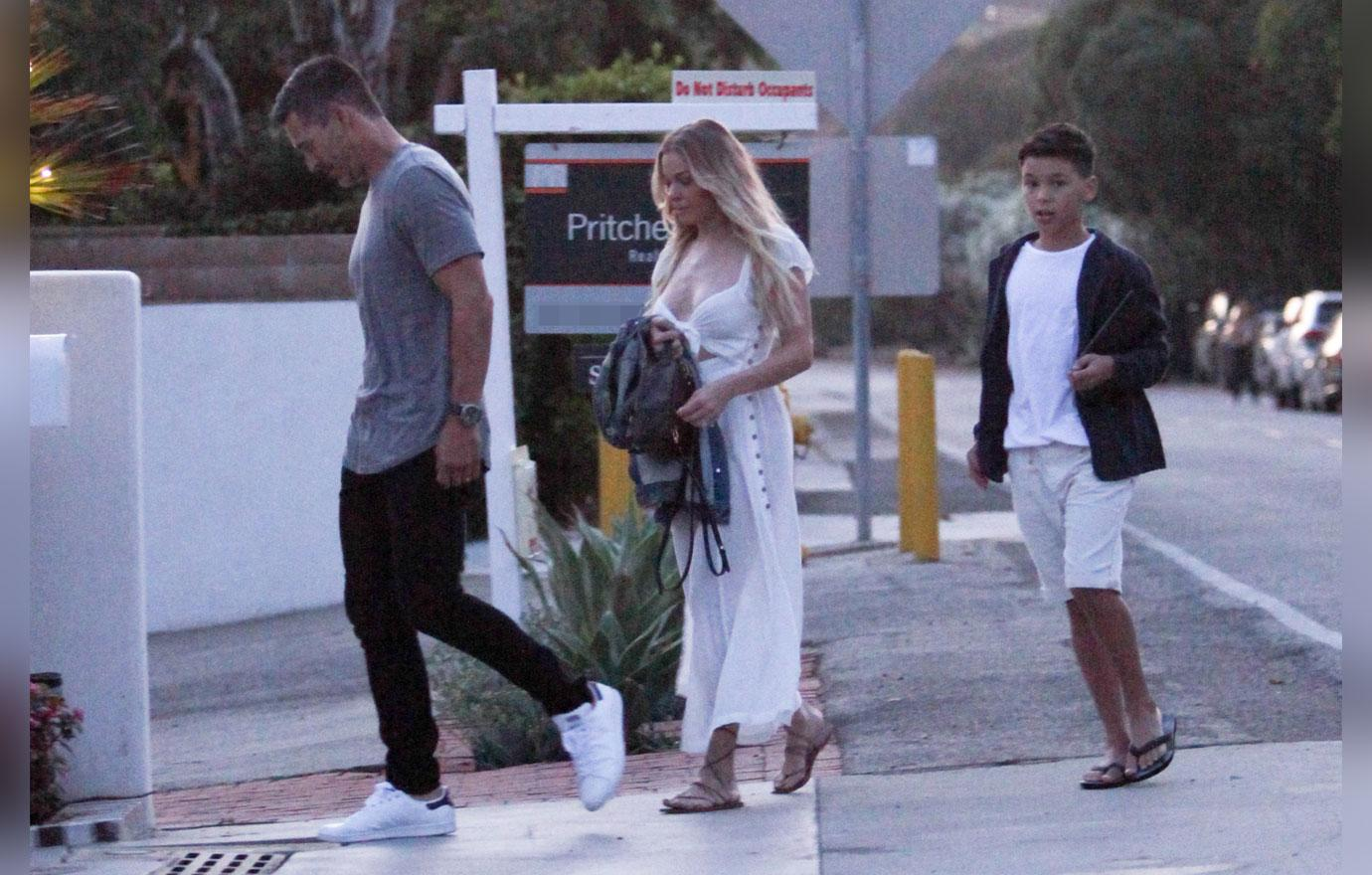 Leanne Rimes And Eddie Cibrian Take His Son Jake To A Party