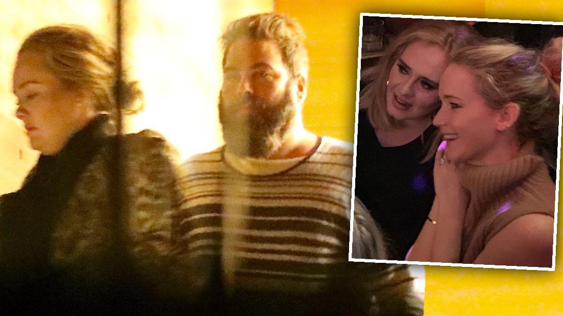 Jennifer Lawrence Influencing Adele Divorce Life