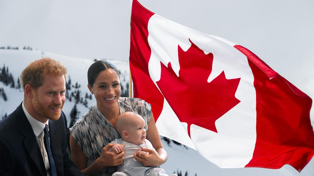 Meghan Markle & Prince Harry Vacationing In Canada Over Christmas Holidays