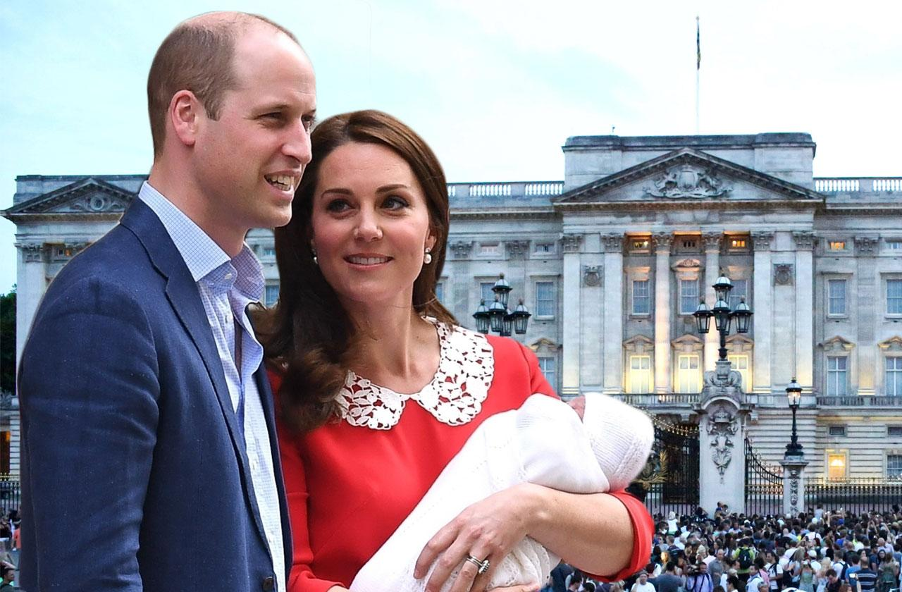 Prince William & Kate Newborn Son Louis Haunted Nursery