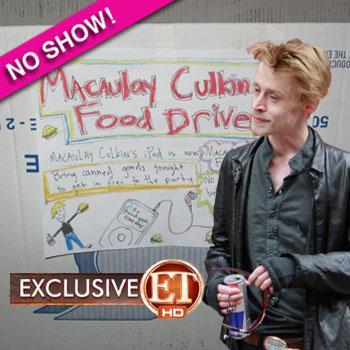 //macaulay culkin food drive
