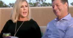 vicki gunvalson boyfriend steve lodge divorce fight rhoc