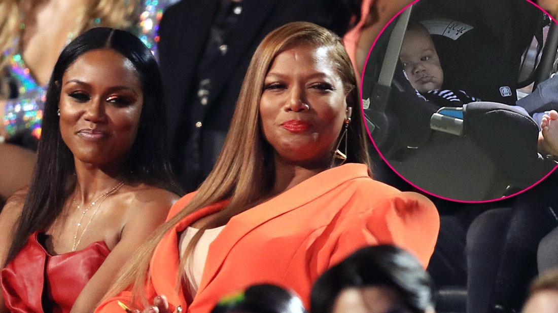 Queen Latifah & Fiancée Eboni Nichols Together At MTV VMAs After Secret Baby-2-feat