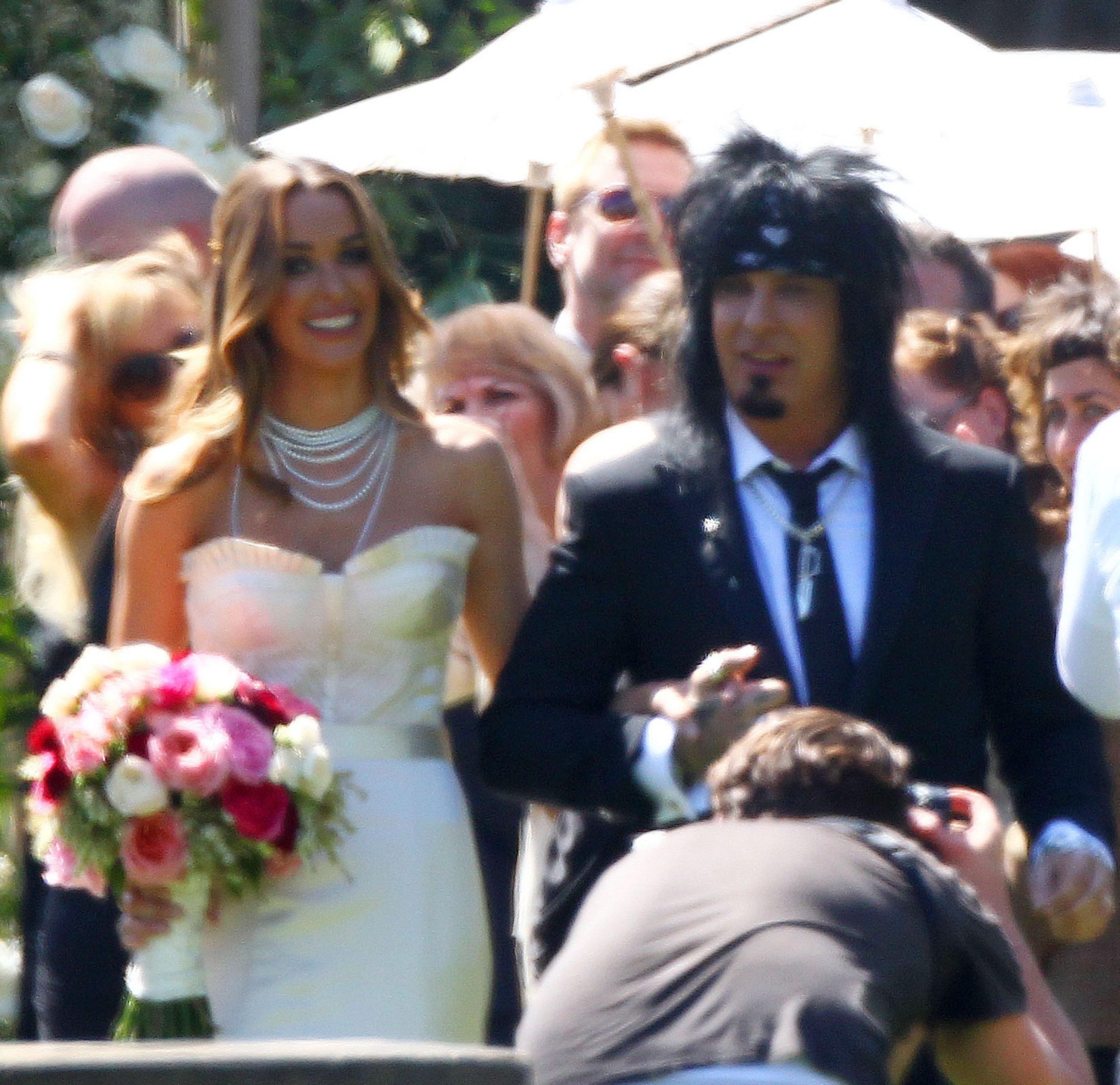Courtney Bingham Nikki Sixx Wedding