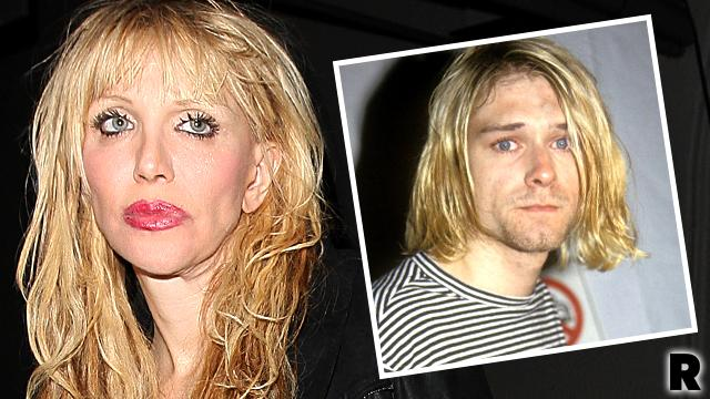 Courtney Love Kurt Cobain Death Scene Pics