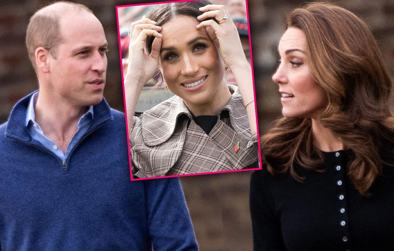 Kate Middleton And Prince William Skip Royal Meeting Amid Feud With Meghan Markle