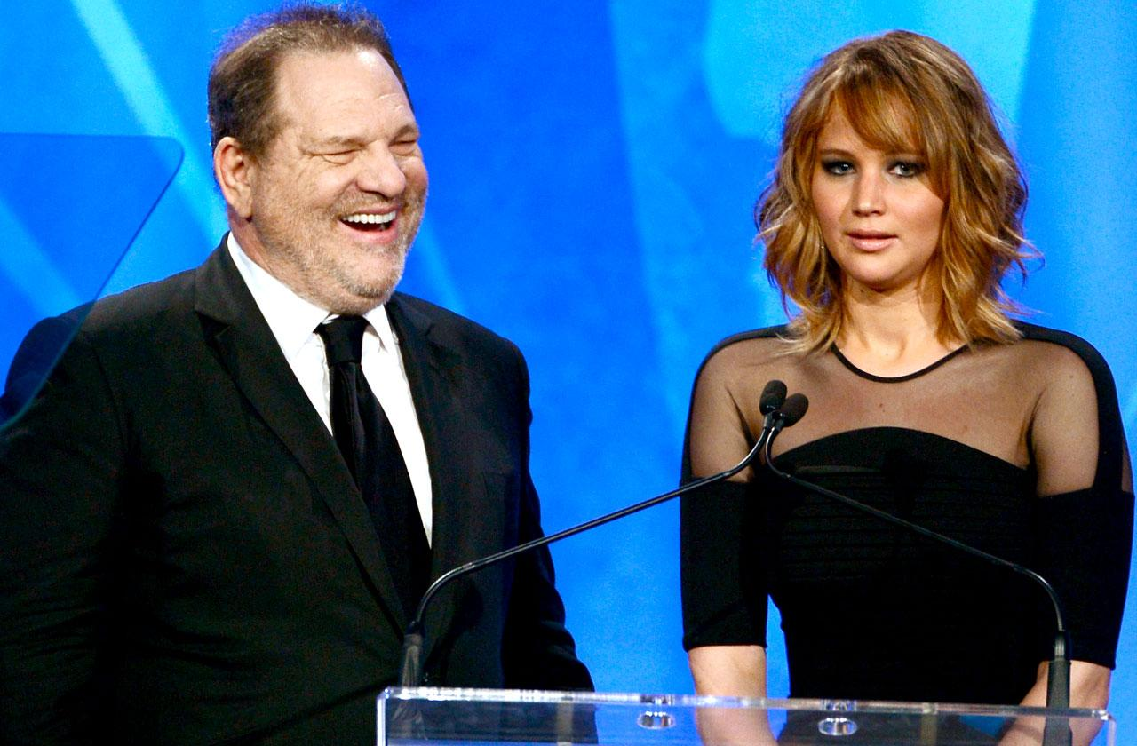 Harvey Weinstein Bragged About Sleeping With Jennifer Lawrence