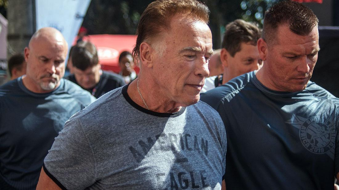 Arnold Schwarzenegger Gets Violently Kicked To Ground