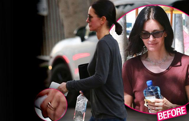 //courteney cox johnny mcdaid breakup engagement ring pp