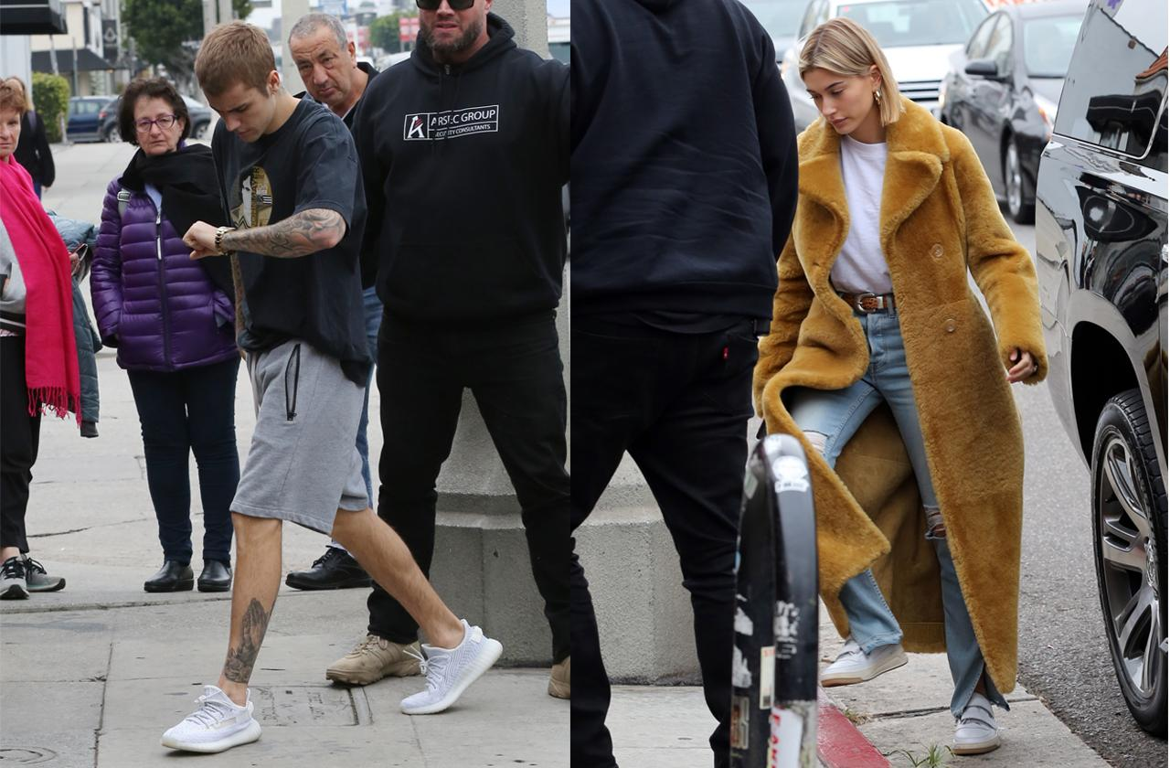 Justin Bieber And Wife Hailey Baldwin Lunch Together