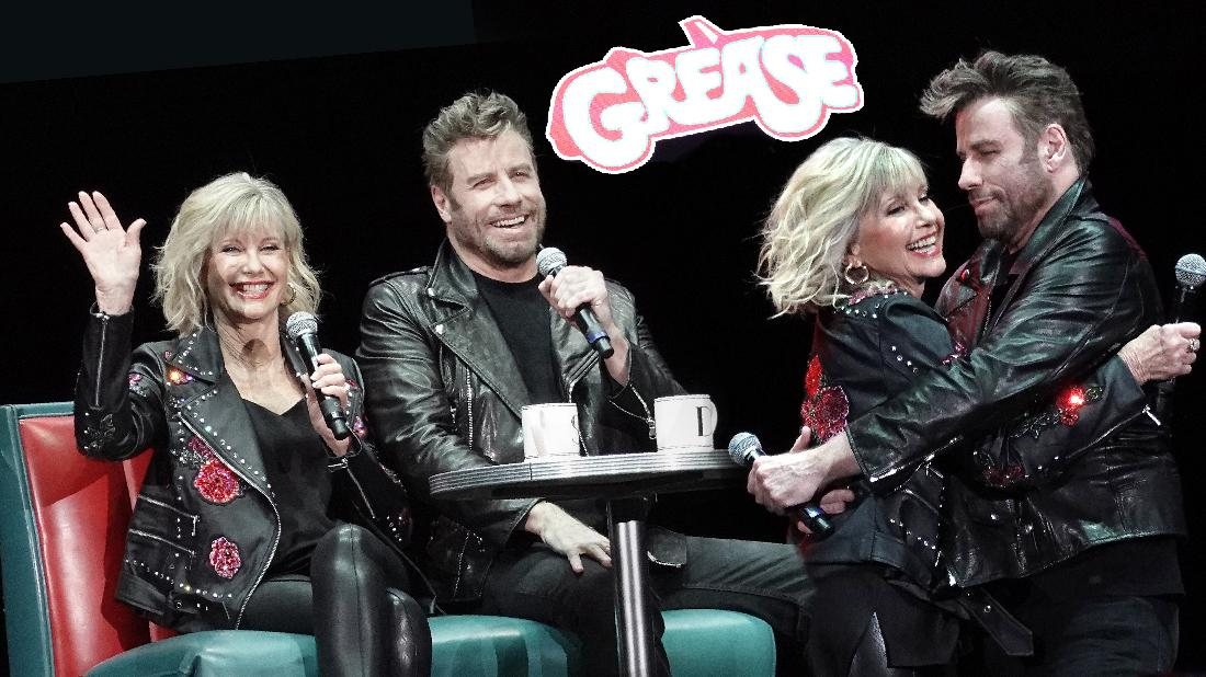 Olivia-Newton John Has Grease Reunion With John Travolta