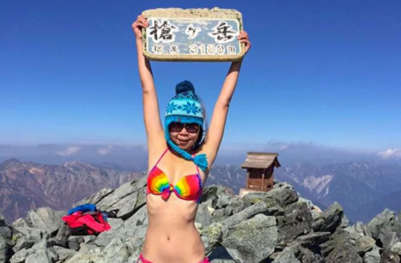 Taiwanese Woman Bikini Climber Froze To Death