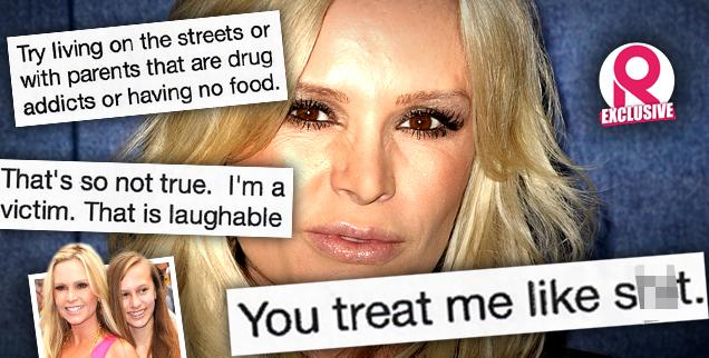 //tamra barney text messages daughter sidney needs to take responsibility top psychologist says wide