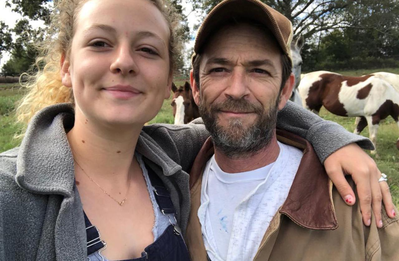 Luke Perry Dead Daughter Sophie Instagram Post