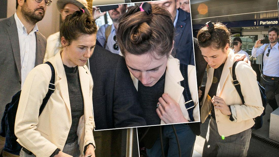 Amanda Knox Returns To Italy For First Time Since Murder Acquittal