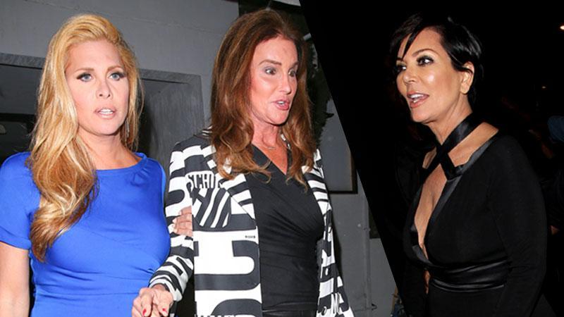 Kris Jenner Jealous Caitlyn Jenner & Candis Cayne