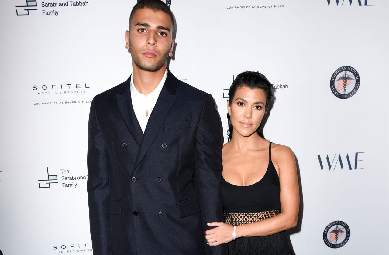 Kourtney Kardashian Younes Bendjima Back Together