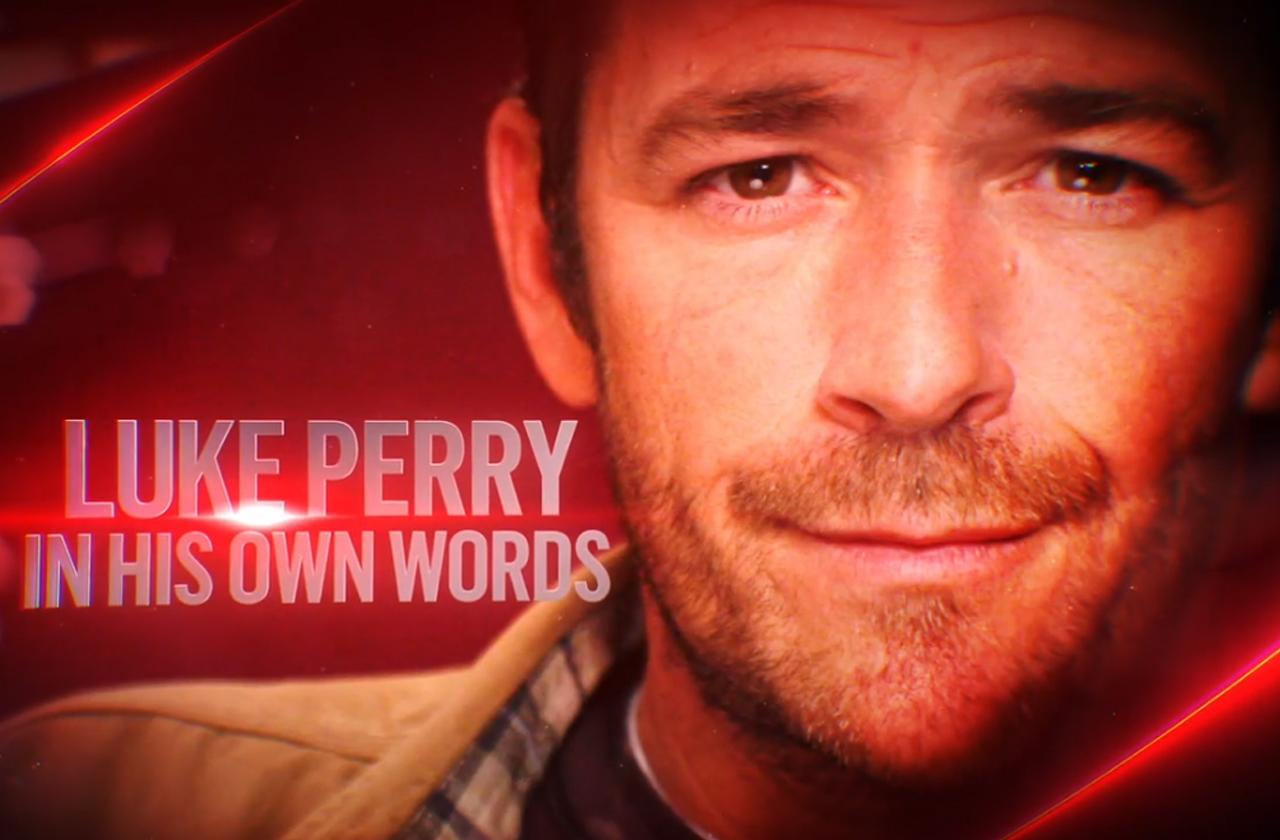Luke Perry audition documentary