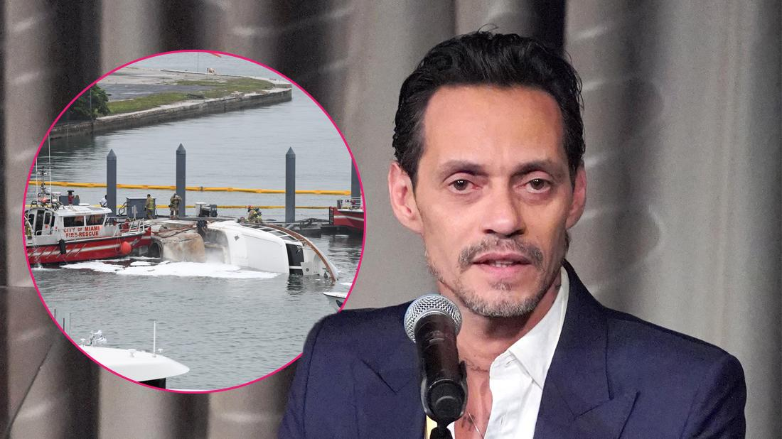 Is He Ok? Marc Anthony's Yacht Catches Fire In Miami