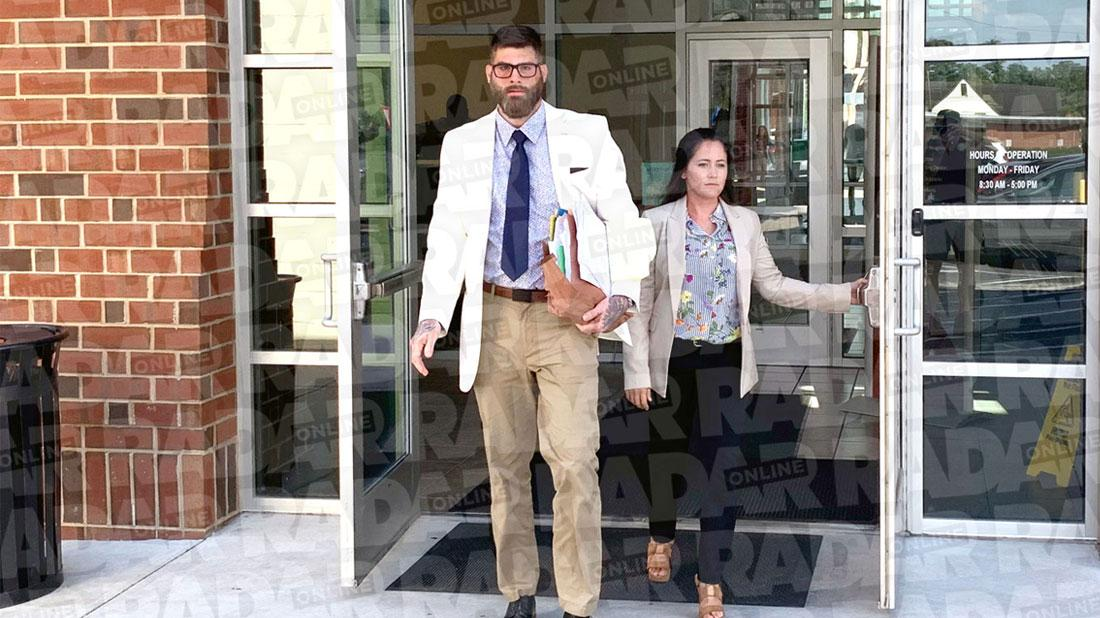 Jenelle Evans & David Leave Court With 'New Evidence' But Not Kids After Custody Hearing