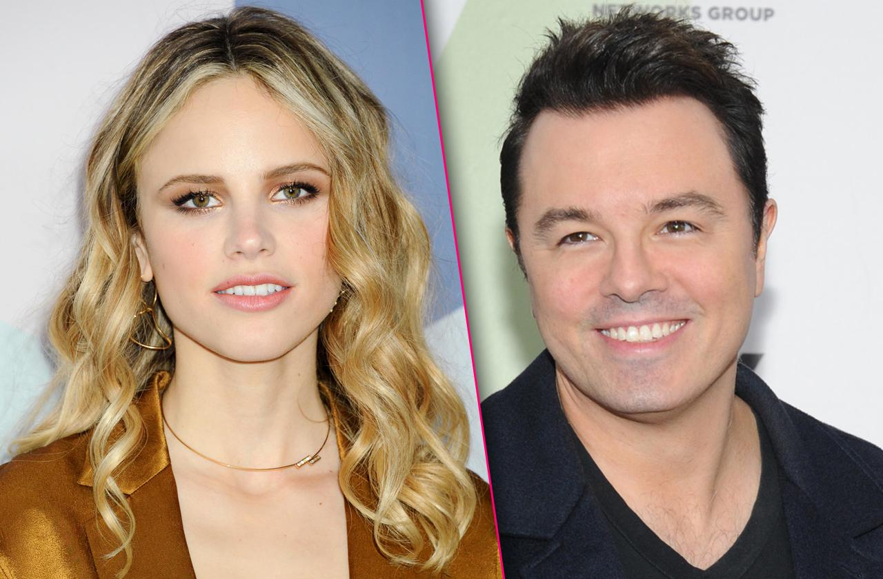 Seth MacFarlane Dating Much Younger 'The Orville' Co-Star Halston Sage