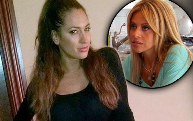 Amber Marchese and Dina Manzo Feud Continues