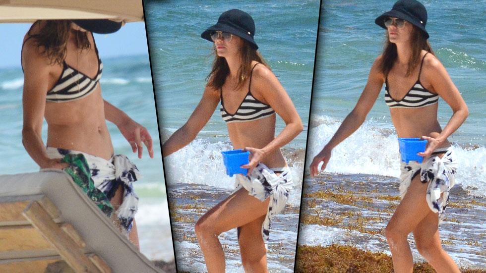 Michelle Monaghan Bikini Mexico Vacation