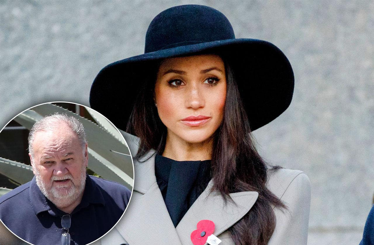 Meghan Markle Dad Thomas Very Close Before Fame
