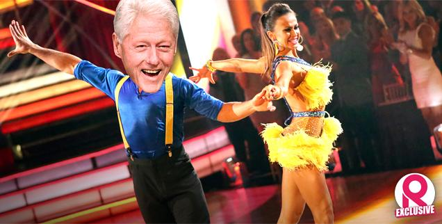 //bill clinton dancing karina smirnoff dwts wide