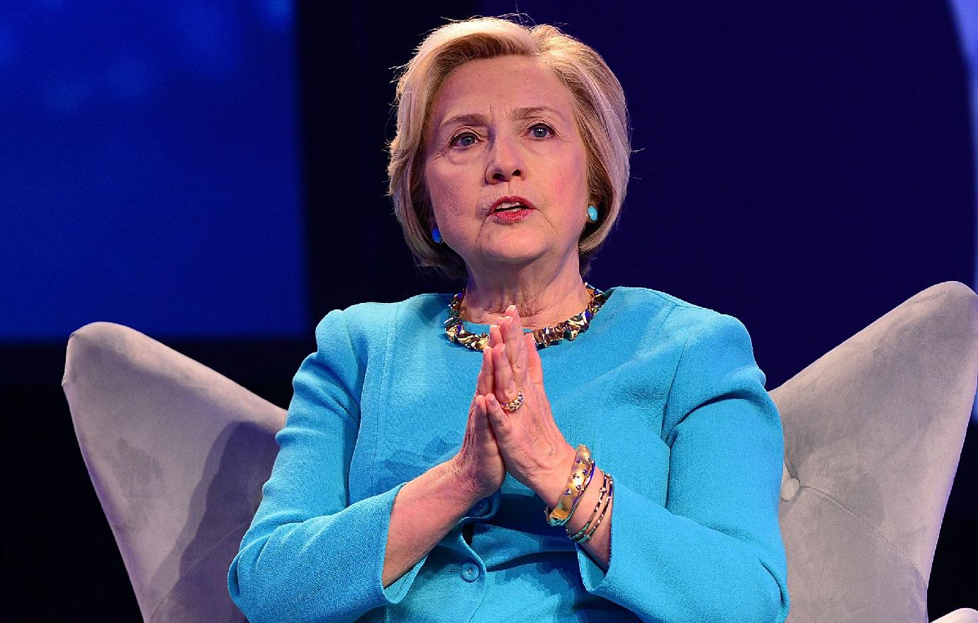 Hillary Clinton Has New Coughing Fit Book Tour