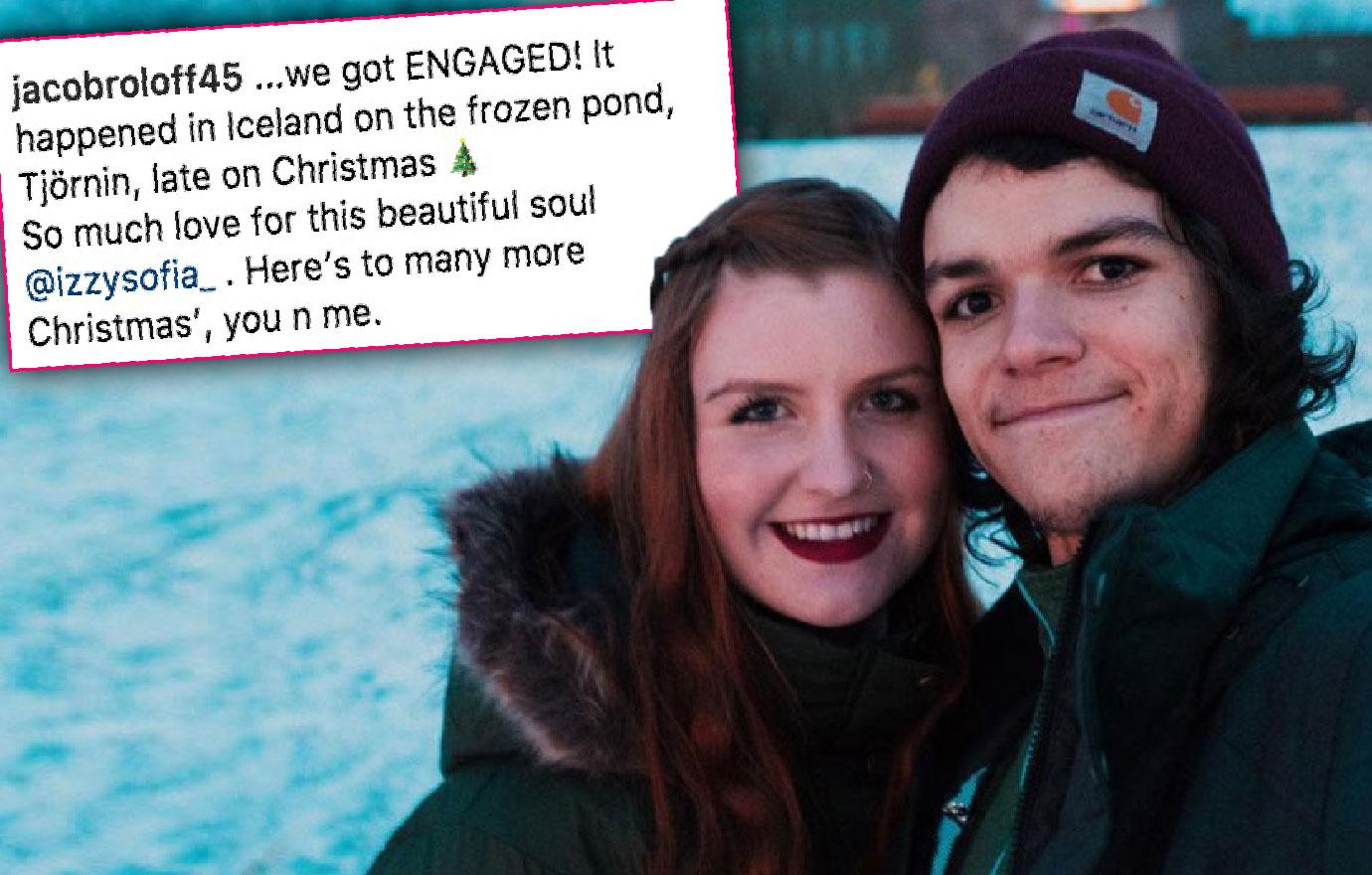 //jacob roloff gets engaged pp