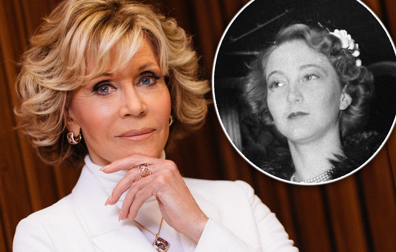 Jane Fonda Talks About Her Mother's Shock Suicide