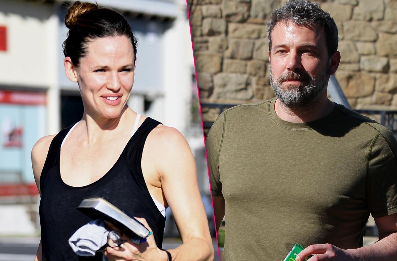 Ben Affleck And Jennifer Garner Together Again – In The Gym