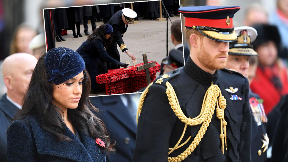 Meghan Markle & Prince Harry Attend Event Before Royal Break