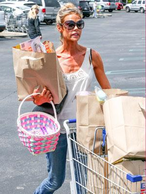 //denise richards skinny shopping tall