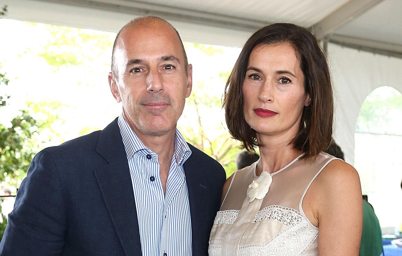 Matt Lauer's Wife Annette Roque Heads Home To Holland