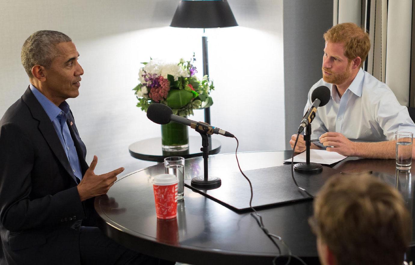 Prince Harry Interviews Friend Barack Obama